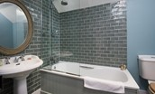 The Boathouse - bedroom four en suite bathroom