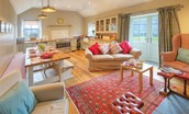 The Bothy at Reedsford - open plan living area