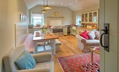 The Bothy at Reedsford - sitting room & kitchen