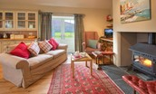 The Bothy at Reedsford - sitting room