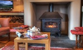 The Bothy at Reedsford - fireside