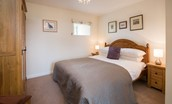 The Bothy at Swinton Hill - bedroom