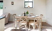 The Cowshed - dining table
