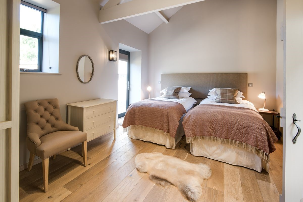 The Cowshed - bedroom three