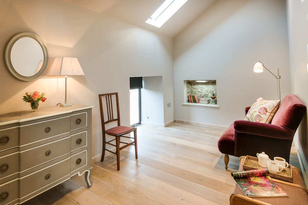 The Cowshed - bedroom one seating area
