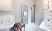 The Gate House - family bathroom