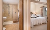 The Smithy, Crookham - bedroom & bathroom access