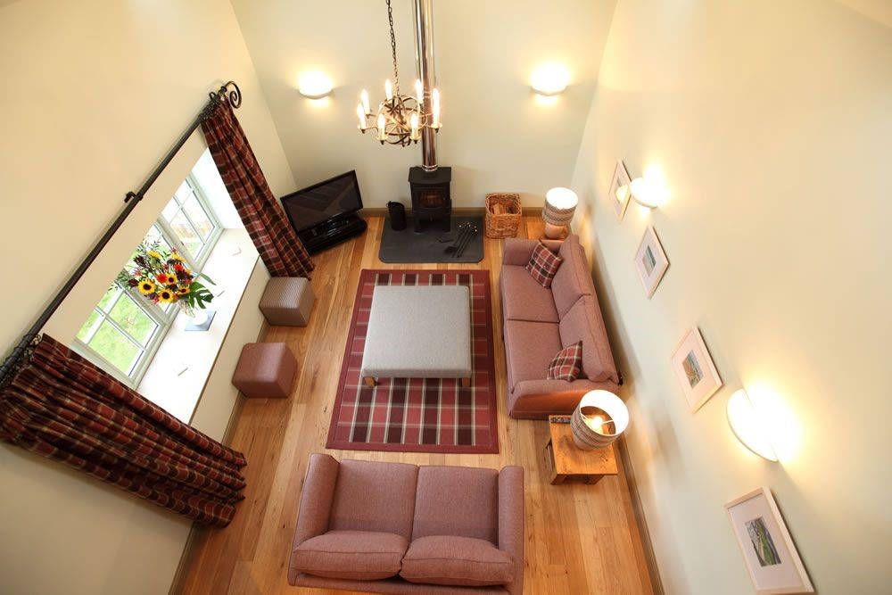 Time - sitting room from the mezzanine level