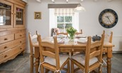 Tweedswood - dining table