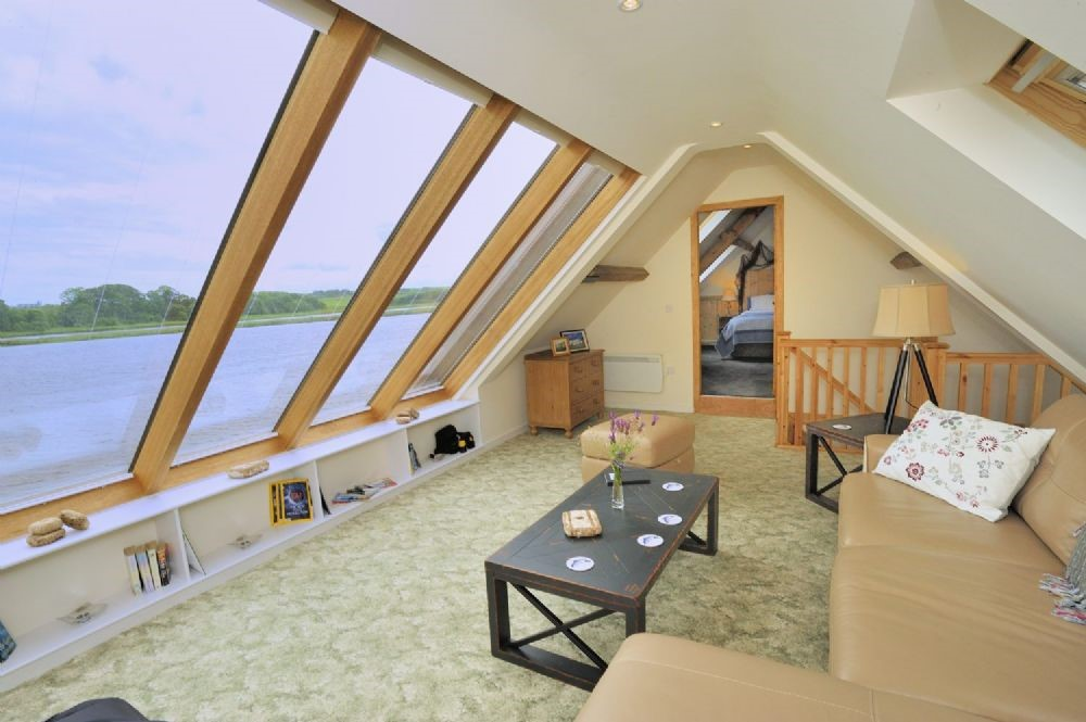 Whitesand Shiel - sitting room with landing & access to bedroom