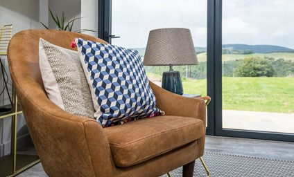 With the fabulous Borders countryside on the doorstep, a clever renovation has ensured that the view is the focal point of every room.