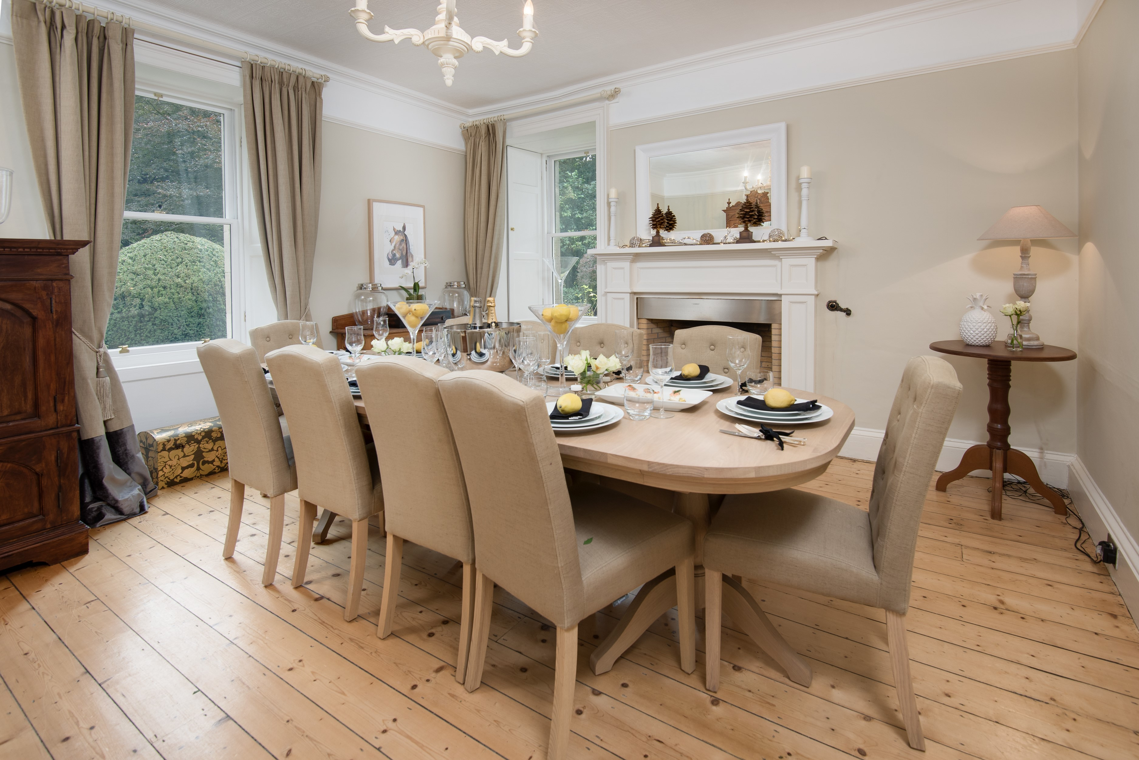 Kirkton House - dining room