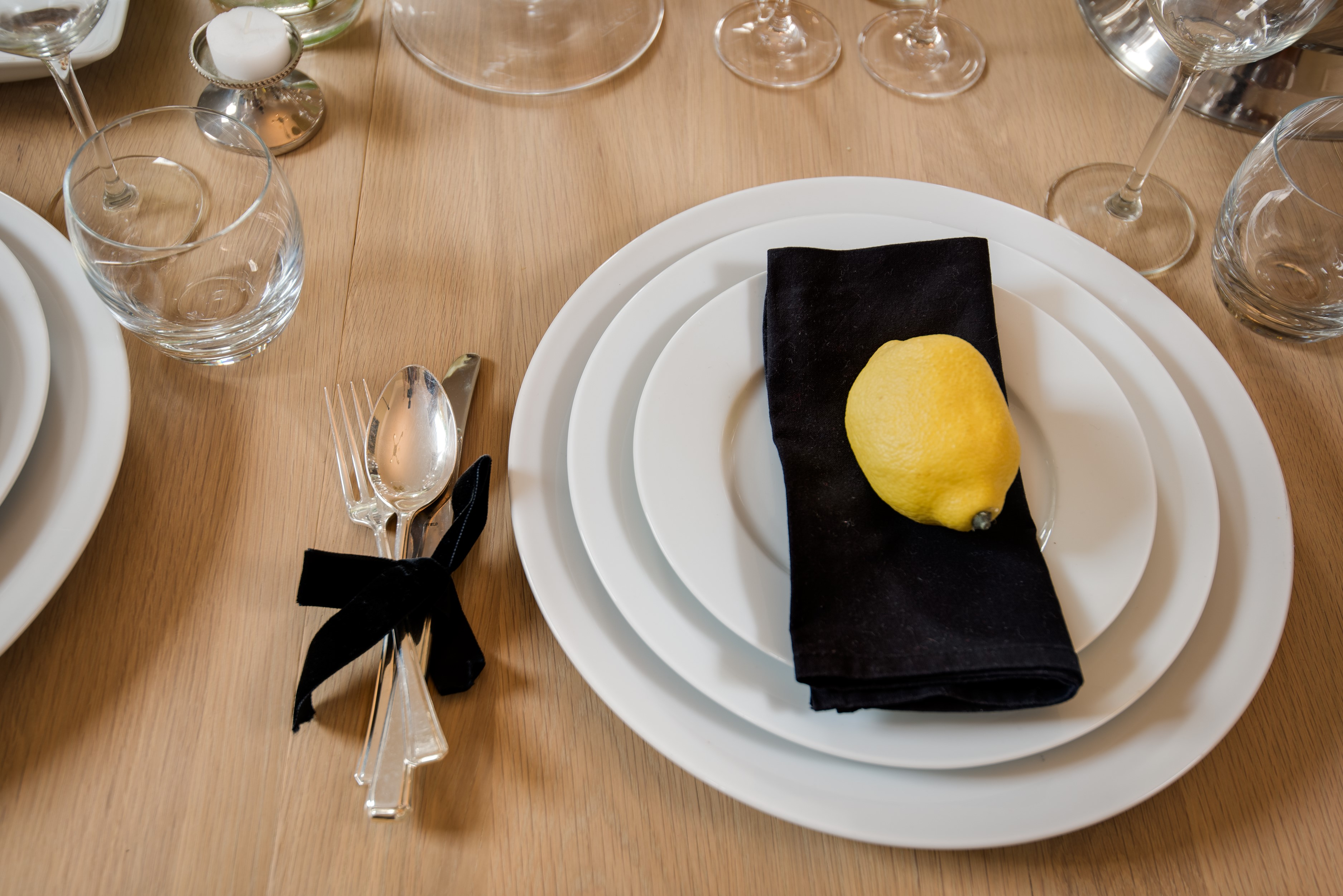 Kirkton House - table settings