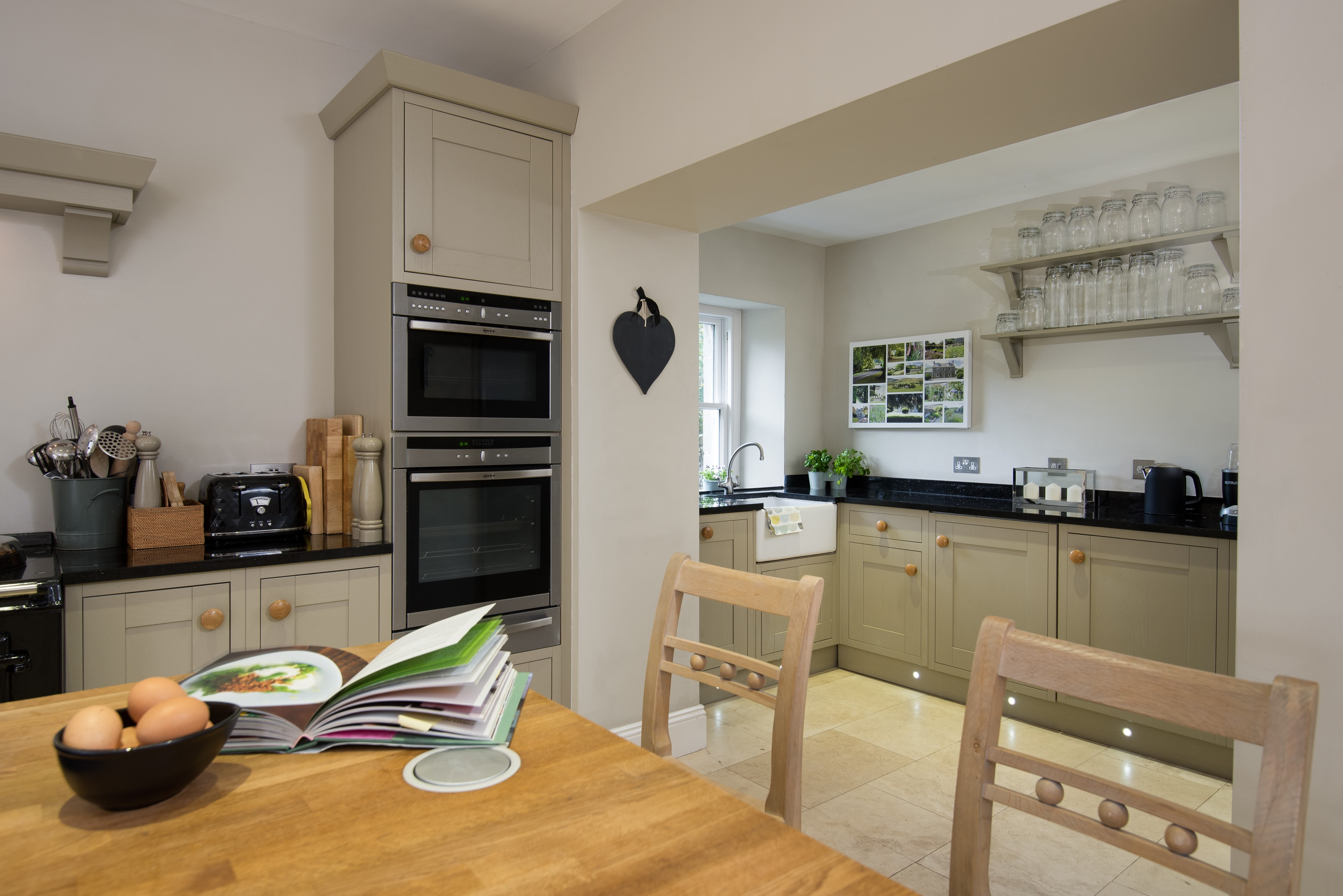 Kirkton House - kitchen area