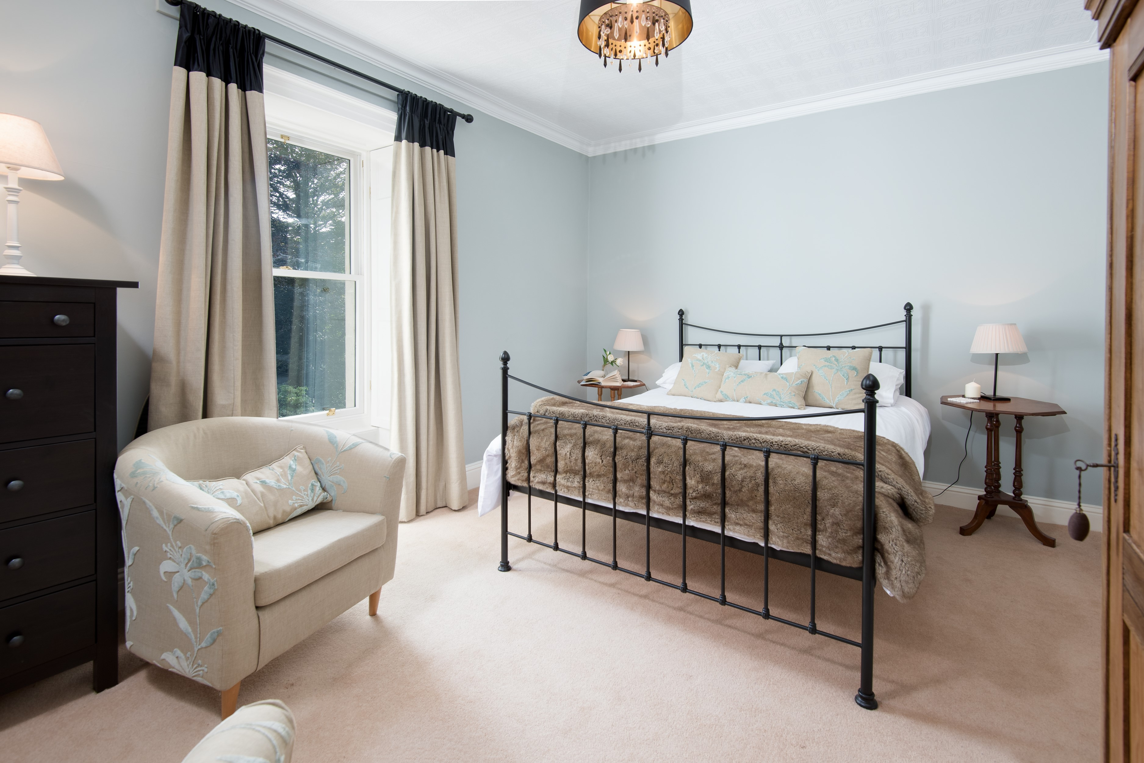 Kirkton House - bedroom four