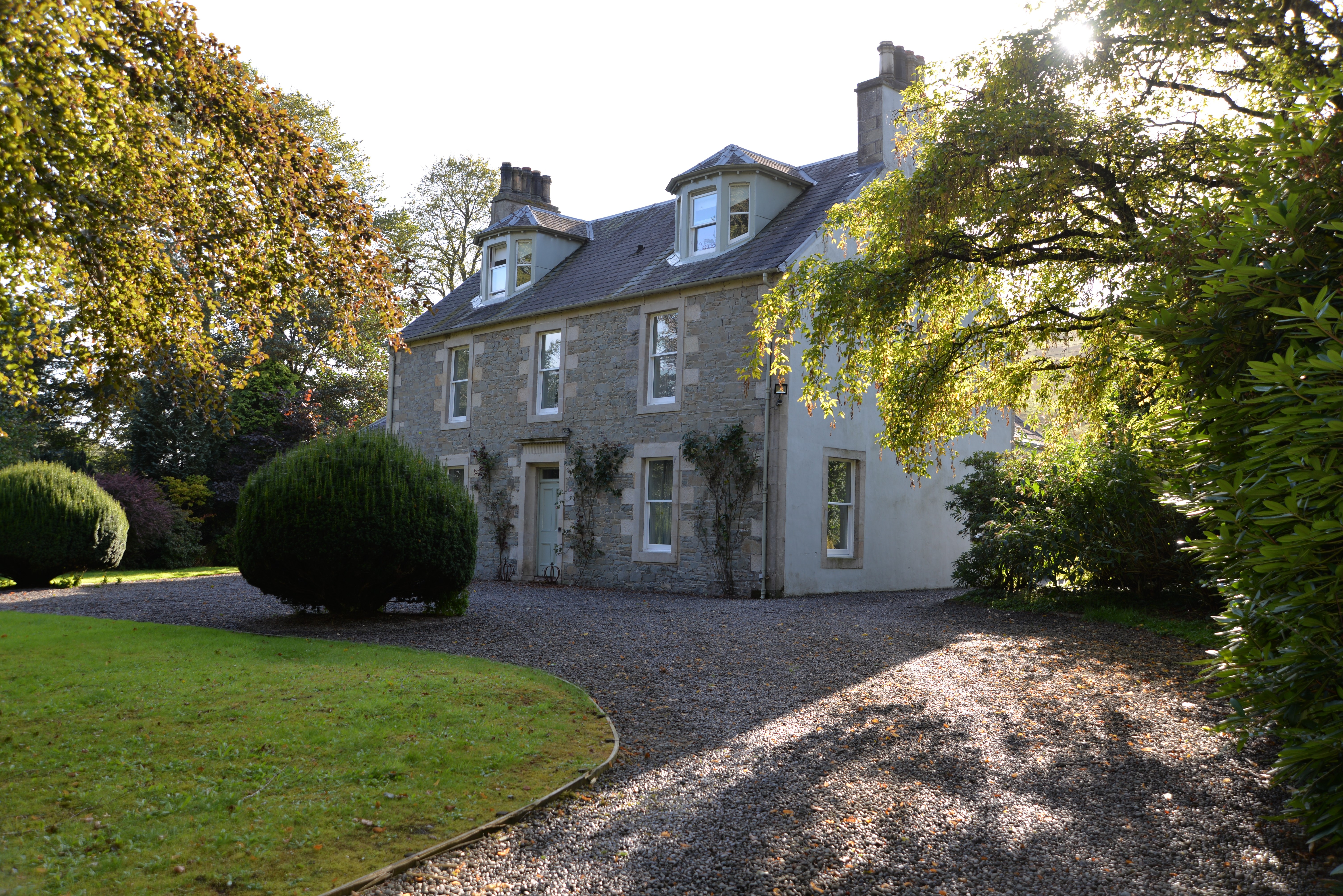 A sunshine-filled visit to Kirkton House