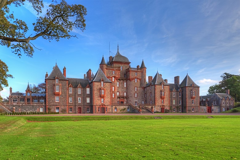 Win a stay for two in a beautiful Scottish castle!