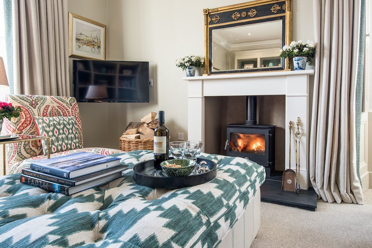 Head Gardener's House - sitting room fireside