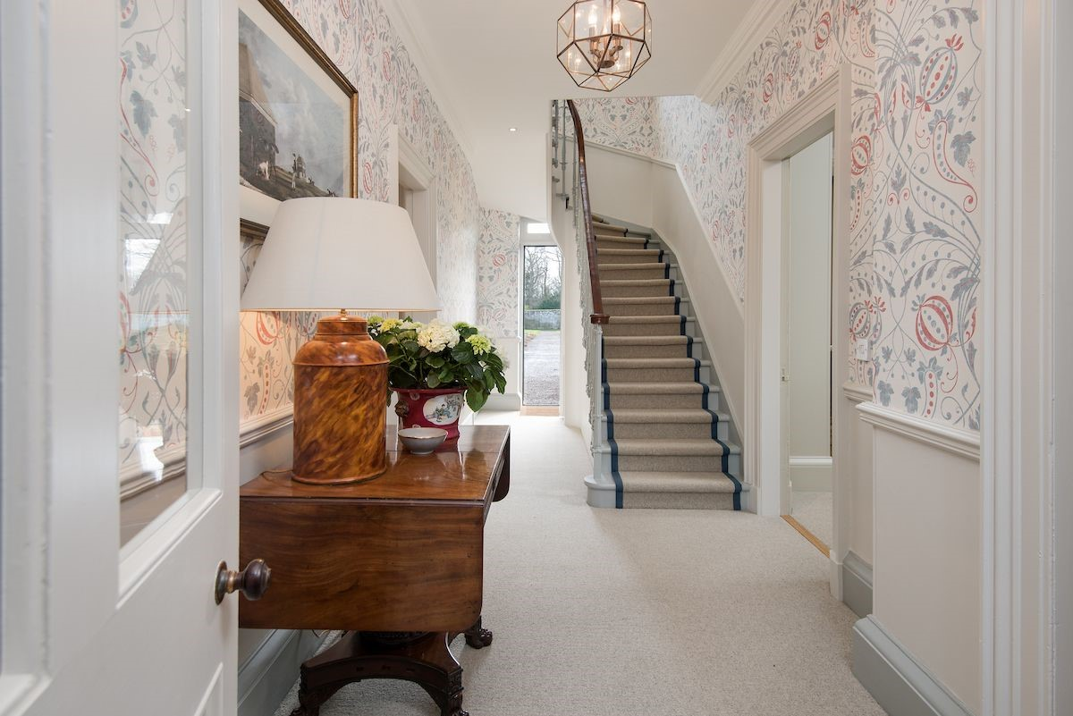 Head Gardener's House - entrance hall & staircase
