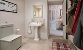 Head Gardener's House - boot room/cloakroom
