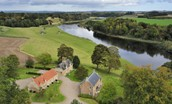 Tweedside - aerial footage
