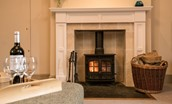 Bowmont Cottage - fireside