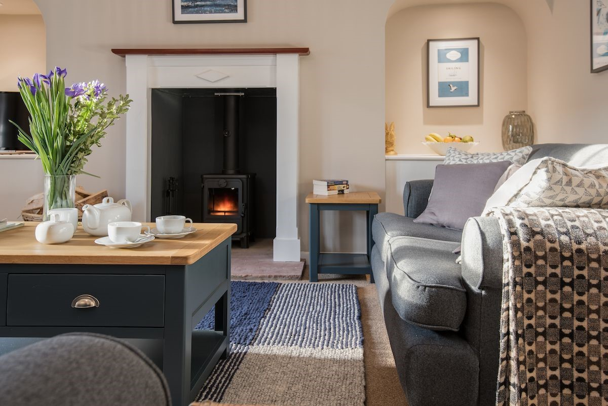 Rose Cottage - sitting room fireside