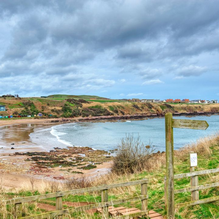 Coldingham coastal route