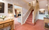 Dryburgh Farmhouse One - hallway & staircase