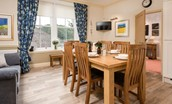 Dryburgh Farmhouse One - dining area