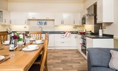Dryburgh Farmhouse One - kitchen & dining table