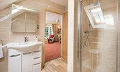 Dryburgh Farmhouse One - bedroom one en suite bathroom