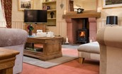 Dryburgh Farmhouse Two - fireside