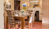 Dryburgh Farmhouse Two - dining area