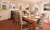 Dryburgh Farmhouse Two - dining room