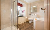 Dryburgh Farmhouse Two - bedroom one en suite bathroom