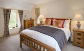 Dryburgh Stirling One - bedroom one with double bed