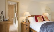 Dryburgh Stirling One - bedroom one with en suite bathroom