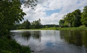 Dryburgh Stirling One - view of River Tweed