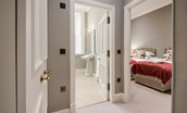 The Maitland Apartment - access to bedroom two & en suite bathroom