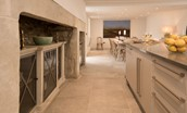 Old Purves Hall - kitchen & dining area