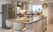 Old Purves Hall - kitchen island