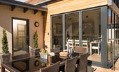 Mallow Lodge - outside seating area