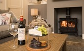 Mallow Lodge - fireside