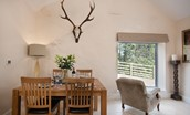 Leyland Barn - dining area