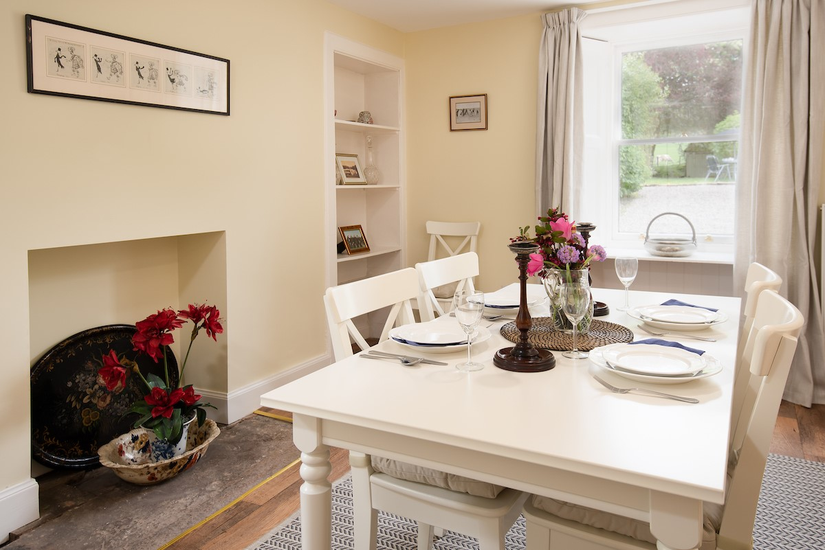 Gardener's Cottage, Elliston - dining room area