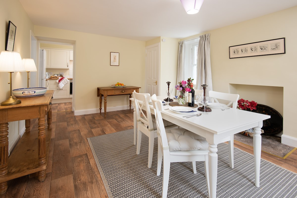 Gardener's Cottage, Elliston - dining room