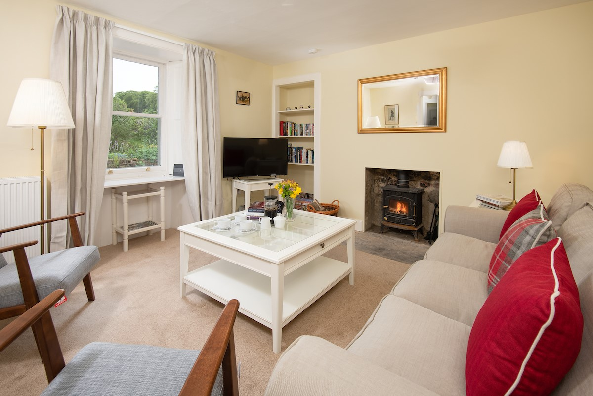Gardener's Cottage, Elliston - sitting room