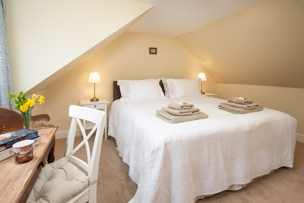 Gardener's Cottage, Elliston - bedroom one