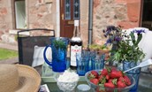Polwarth Rhodes Cottage - garden furniture/sitting out